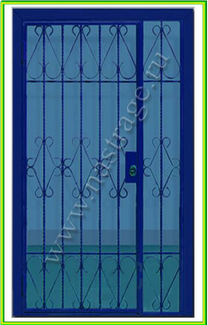 железная дверь решетка в люберцах